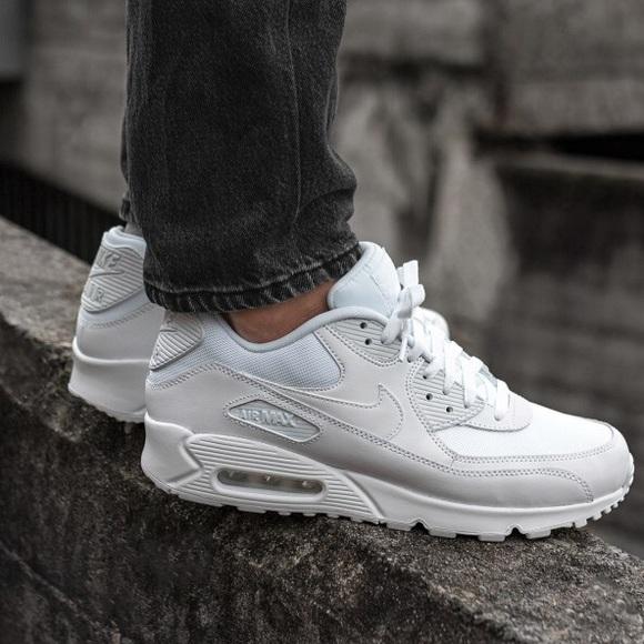 85207663d99c8 Nike Shoes | Air Max 90 Essential All White | Poshmark